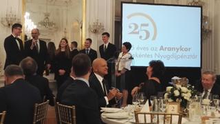 PénzSztárok az Aranykor 25. születésnapi ünnepségén