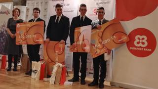 Tatabányai diákok nyerték az idei PénzSztár versenyt